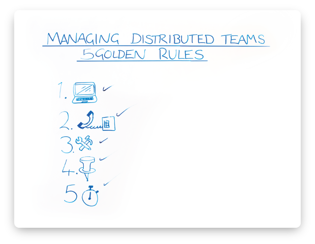 Managing-disributed-teams-5-golden-rules