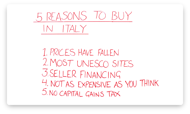 reasons-to-buy-in-italy
