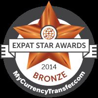 expat star award 2014 bronze