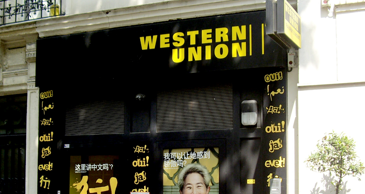 Western Union on your highstreet