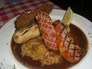 German pork dish