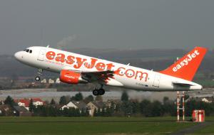 Easy Jet airplane